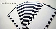 Stripes paper board.