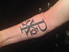 chi rho shield tattoo - Google Search