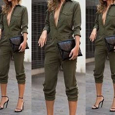 JENNIFER JUMPSUIT via Gorgeous Catch. Click on the image to see more!