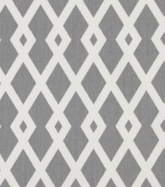 Robert Allen@Home Best Home Decor Print Fabric Fret Nickel at Joann.com for bedroom curtins and throw pillows