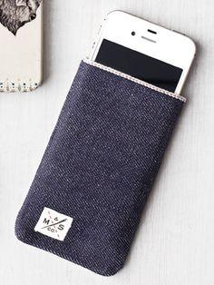 Denim phone case (iPhone 4S)