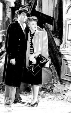 Cary Grant and Ginger Rogers - Once Upon A Honeymoon