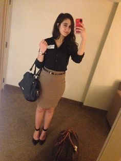 Business office outfit
