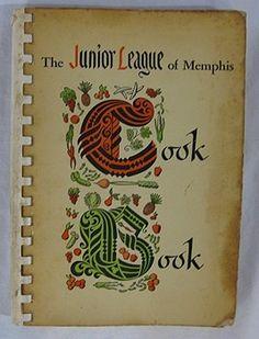 Vintage The Junior League of Memphis Cook Book 1952