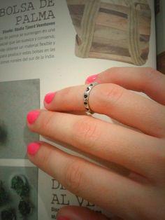 Anillo de medio dedo