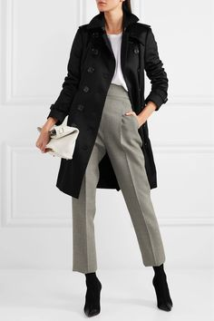 Burberry | The Sandringham cashmere trench coat | NET-A-PORTER.COM