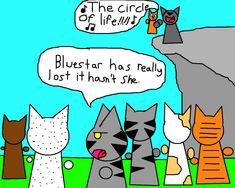 Firepaw joins ThunderClan by talyasaurus.deviantart.com on @DeviantArt #firestar #bluestar