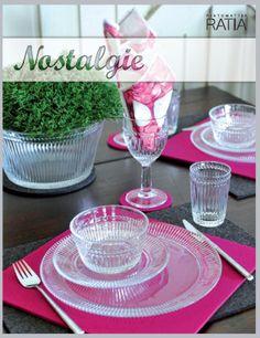 NOSTALGIE glassware / Muurla
