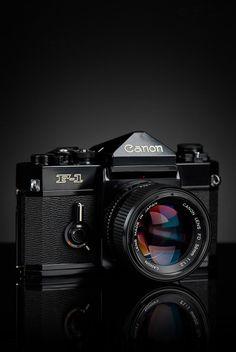 Canon F-1 - 1976 Production Version Canon FDn 50mm f/1.2 lens _ Camera Portrait Project
