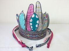 Kronen -  Wieder da! Indianer Kopfschmuck - ein Designerstück von mitFreude bei DaWanda