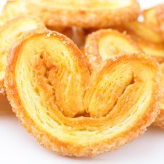 A very delicious cookie pastry recipe.. Sweet Palmier or Butterfly Cookies Recipe from Grandmothers Kitchen.