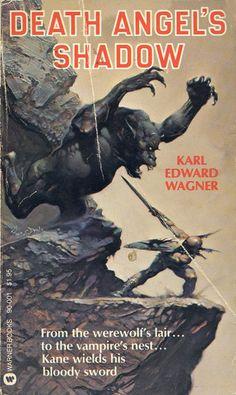 FRANK FRAZETTA - art for Death Angel's Shadow by Karl Edward Wagner - 1978 Warner Books