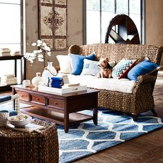 Graciosa Sofa   Brown | Pier 1 Imports Family Room Furniture, Brown Sofa,  Indoor
