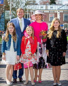 King's Day 2016 ❤️ #kingwillemalexander #queenmaxima #princessamalia #princessalexia #princessariane #dutchroyalfamily #koningsdag