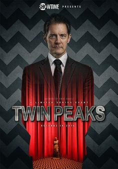 To celebrate the return of Twin Peaks, artist Emre Unayli has created a series of posters featuring Kyle MacLachlan as Special Agent Dale Cooper 25 years later. Twin Peaks Music, Twin Peaks Poster, Twin Peaks Tv, Laura Palmer, Twin Peaks Season 3, David Lynch Twin Peaks, Sky Ferreira, Between Two Worlds, American Gothic