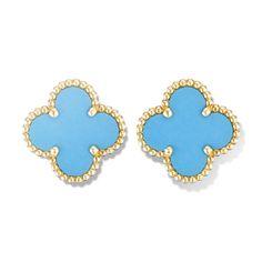 Va Cleef & Arpels │Vintage Alhambra earclips