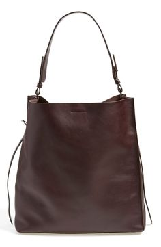 6285c2729b501 Paradise North South tote in burgundy. All Saints.  348 Fab Bag