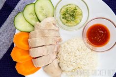 Hainese Chicken Rice Recipe (海南雞飯)