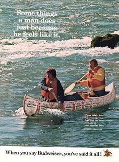 Budweiser Canoe Tripping