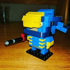 My first attempt at a LEGO BrickHead. Pharah from Overwatch! #lego #pharah #overwatch #brickheadz #brickhead #afol #lego #brick #MOC #legobrick #bricktease LEGO