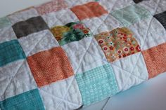 This item is unavailable Baby Girl Bedding, Baby Girl Quilts, Quilt Baby, Girls Quilts, Crib Bedding, Modern Crib, Quilt Modern, Modern Color Schemes, Modern Colors