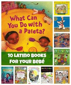 10 Books To Teach Your Kids About Your Culture: English and Spanish books for bilingual kids