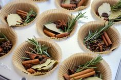 Cloves, Bay Leaves, and Star Anise