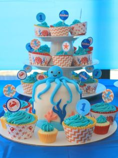 Ocean/Under the Sea Birthday Party Ideas | Photo 4 of 29 | Catch My Party