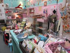 Phoenix Scrapbook Store booth display at the Brass Armadillo Antique Mall in Phoenix, AZ...