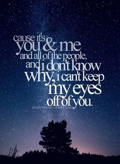 """You and Me"" 