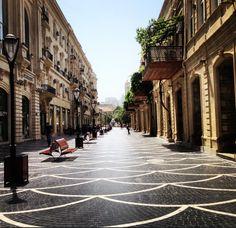 Nizami street, Baku, Azerbaijan