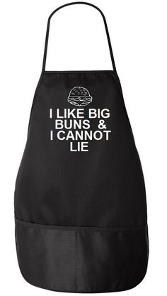 I Like Big Buns And I Cannot Lie Apron Father's Day Gift Idea for a Father by meandmy3boys on Etsy