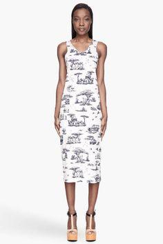 Carven Safari Toile Dress