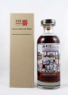 Karuizawa 1983 Honor Sumo 30 Year Old Good Whiskey, Bourbon Whiskey, Scotch Whisky, Japanese Whisky, Japanese Sake, Liquor Drinks, Wine And Liquor, Rum Bottle, Liquor Bottles
