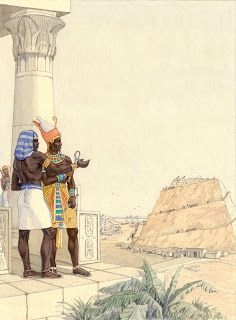 Black History Facts on Imhotep The African Ancient Egypt's First Architect in Robert Buaval's Book Imhotep The African: Architect Of The Cosmos. Ancient Egypt Art, Old Egypt, Ancient History, Art History, African History, African Art, Pyramids Egypt, Ancient Civilizations, Egyptians
