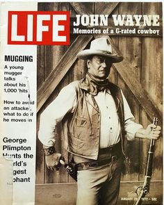 Magazine photos featuring Life Magazine [United States] January on the cover. Life Magazine [United States] January magazine cover photos, back issues and newstand editions. Time Magazine, Look Magazine, Magazine Covers, News Magazines, Vintage Magazines, Fashion Magazines, Vintage Books, John Wayne, George Plimpton