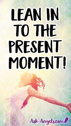 Lean In To The Present Moment by opening your heart, returning to love and allowing love to flow through you. Be fully present here and now. Learn more about this here! Spiritual Guidance, Spiritual Awakening, Angel Spirit, Before Sleep, Live In The Present, Psychic Abilities, Spirit Guides, Mindful Living, Change Quotes