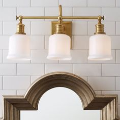 Check out Well Appointed Bath Light - 3 Light from Shades of Light