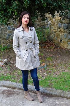 Outfit con trench