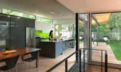 Casa Abierta modern kitchen