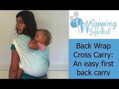 This video by a Certified Babywearing Consultant shows how to do a Back Wrap Cross Carry with a woven wrap. This carry is an excellent first back carry to tr. Carry Back, Carry On, Moby Wrap Newborn, Moby Wrap Instructions, Woven Wrap Carries, Baby Wearing Wrap, Baby Carrying, Baby Wrap Carrier, One Back