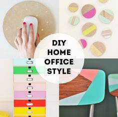 {DIY: home office style} | The Sweet Escape