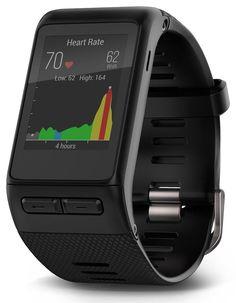 Garmin vivoactive HR GPS Smart Watch, Regular fit - Black #Garmin