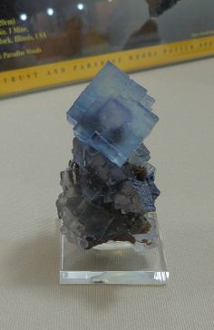 Fluorite, Mineverva mine # 1, Hardin Co. Ill.
