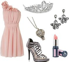 Fashion inspired by Wicked. This was my favorite inspired by Glinda the Good Witch. So pretty!