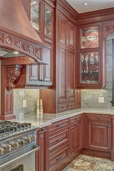 kitchen cabinets with glass inserts | Kitchen cabinet inserts eclectic-kitchen