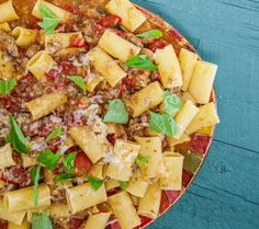Mamma Leone-Style Eggplant and Sausage Ragu - Rach takes another cue from one of her favorite childhood restaurants! Eggplant Pasta, Eggplant Zucchini, Eggplant Recipes, Risotto Recipes, Pasta Recipes, Cooking Recipes, Yummy Recipes, Healthy Recipes, Rezepte