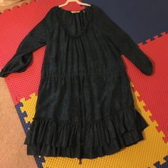 Rebecca Taylor 100% Silk Dress size 8 In excellent condition, only worn once! 3/4 sleeves Rebecca Taylor Dresses Long Sleeve