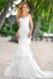 df8783f4f Resultado de imagen para vestido de novia corte sirena con velo Bestidos De  Novia