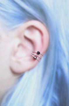 Pastel Goth ear cuff from Etsy